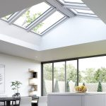 A Flat Glass Roof Light